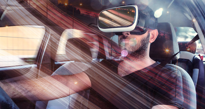 Virtual Reality in der Industrie: Mit der VR-Brille Fahrerassistenzsysteme testen