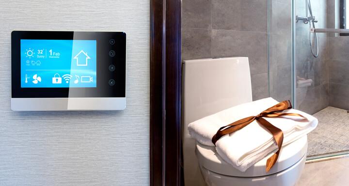 """Smartes Badezimmer der Zukunft: """"Siri, bitte öffne die Toilette ..."""